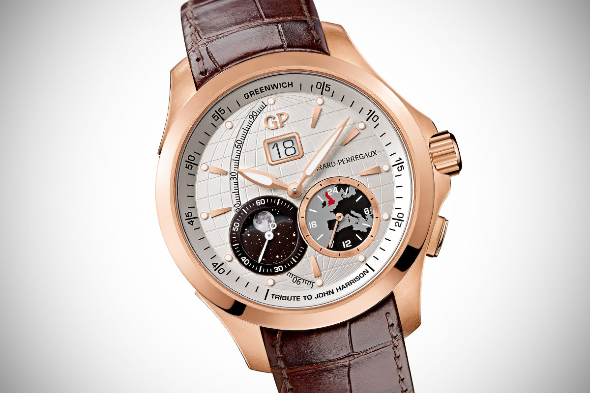 Richevelle Big Date Moon in Rose Gold
