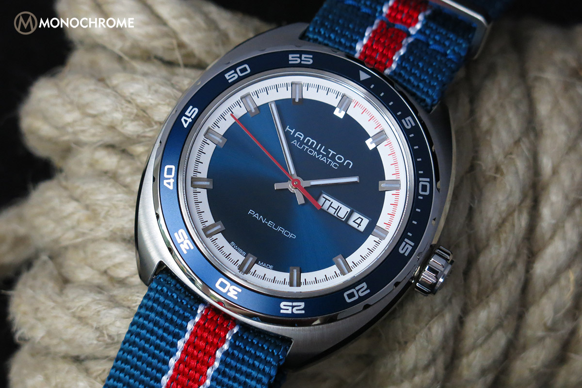 hamilton pan europ automatic  u2013 full review  live photos