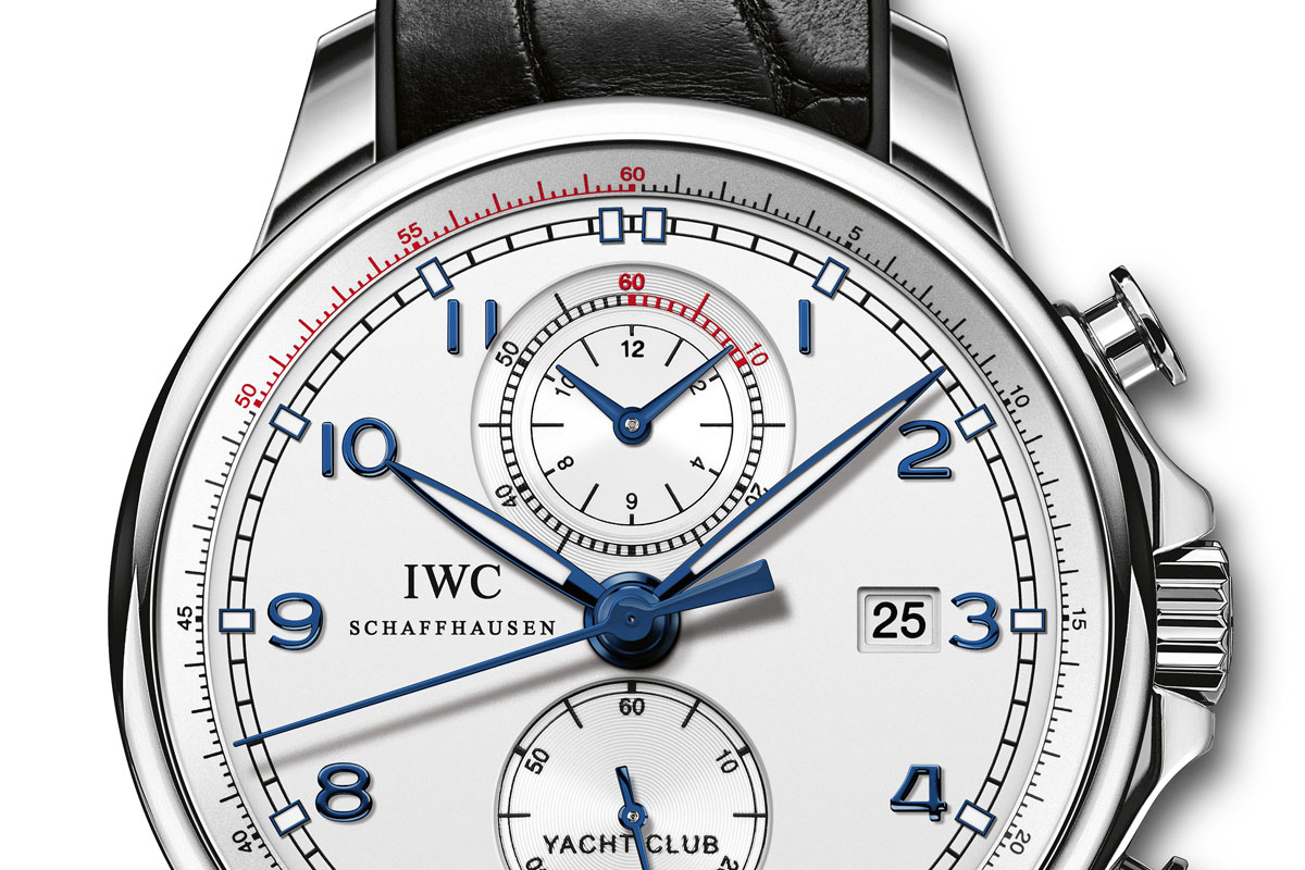 "Introducing the IWC Portuguese Yacht Club Chronograph ""Ocean Racer"" for the Volvo Ocean Race"