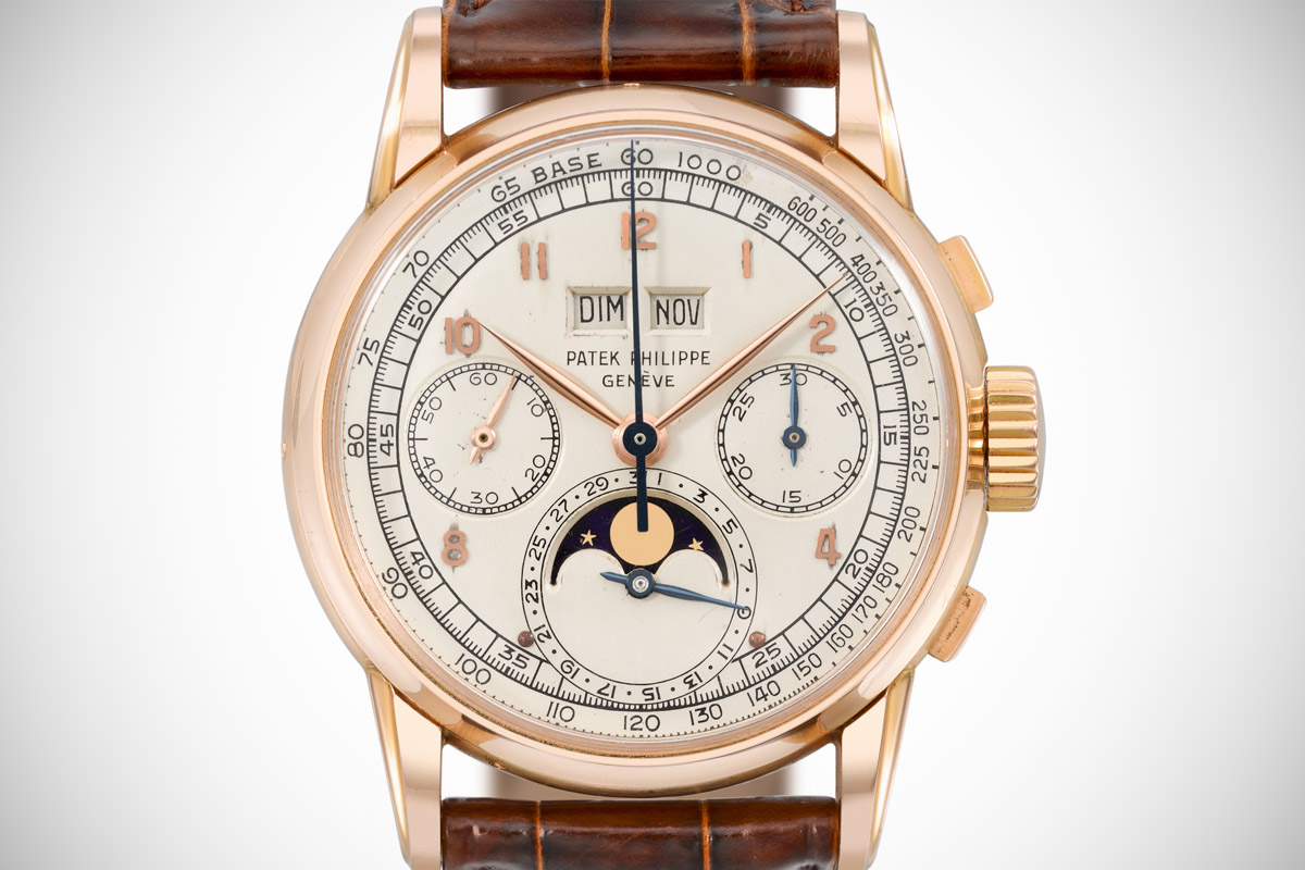 2499 first series perpetual calendar chronograph pink gold – 1