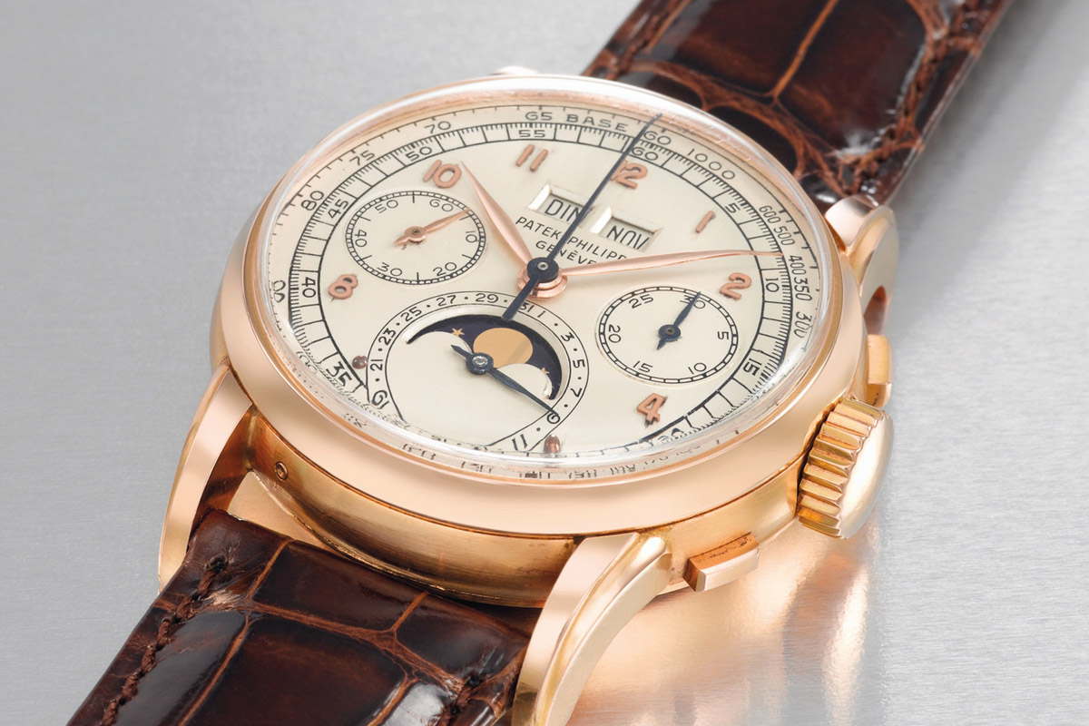 2499 first series perpetual calendar chronograph pink gold – 2