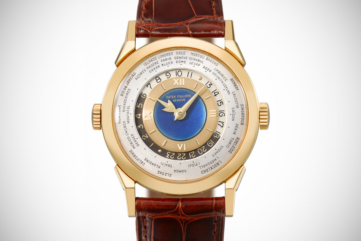 2523 Worldtimer double crown enamel – 2