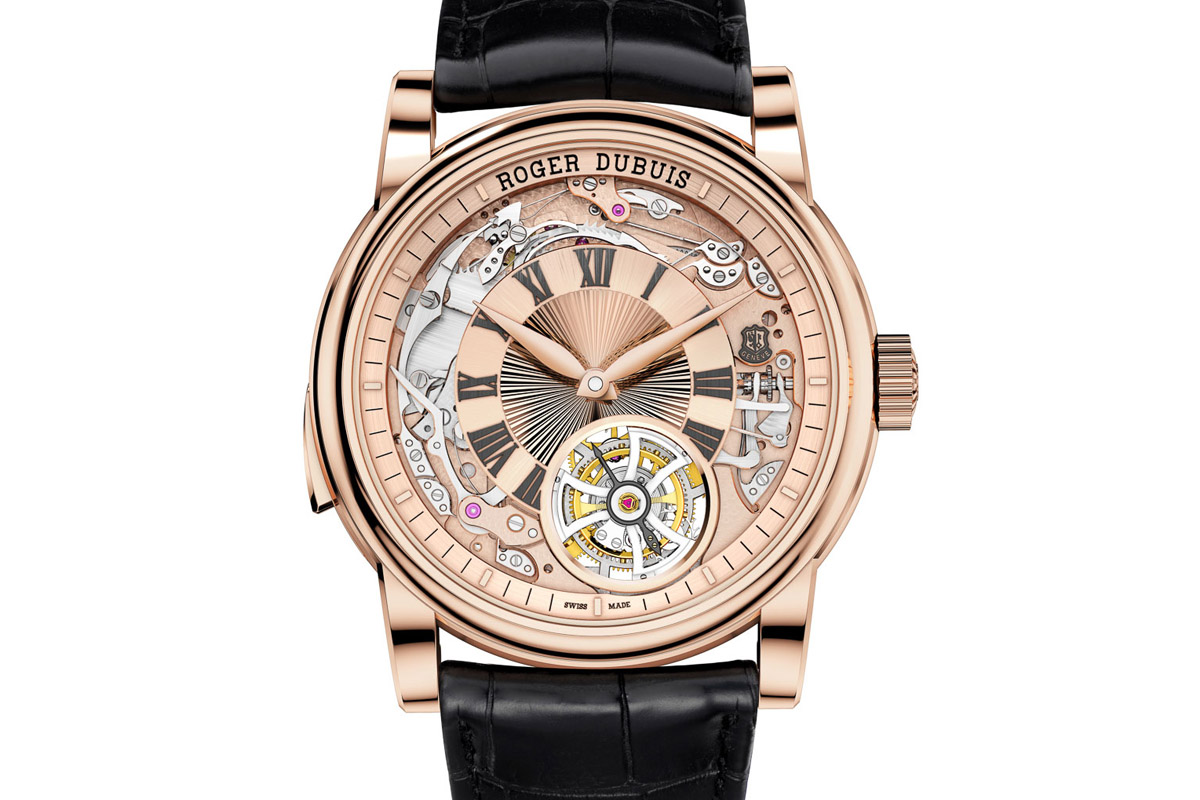 Roger Dubuis Hommage Minute Repeater Tourbillon Automatic (Specs and Price)