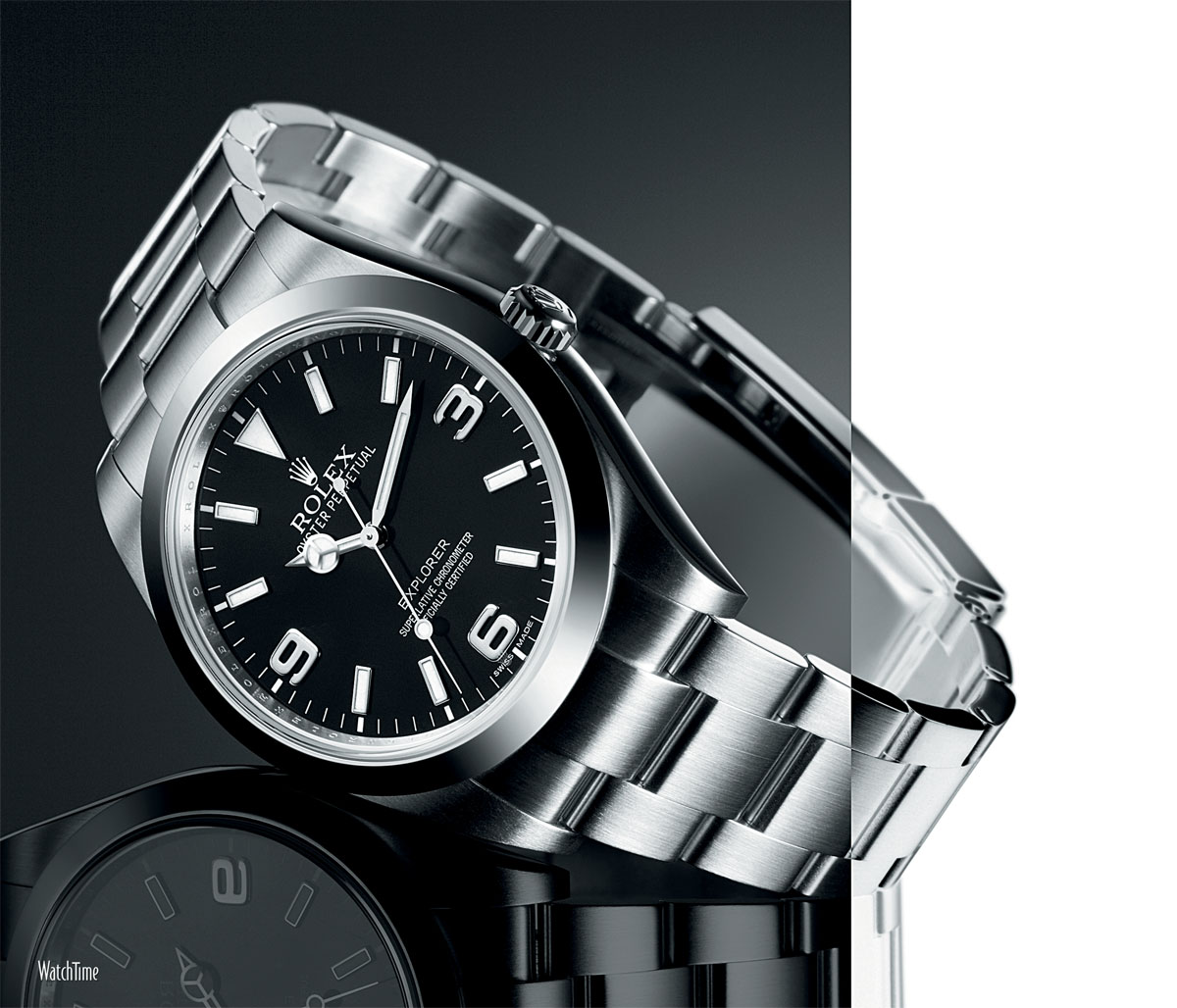 Watchtime wednesday the rolex explorer 1 review of an icon specs and price monochrome watches for Rolex explorer