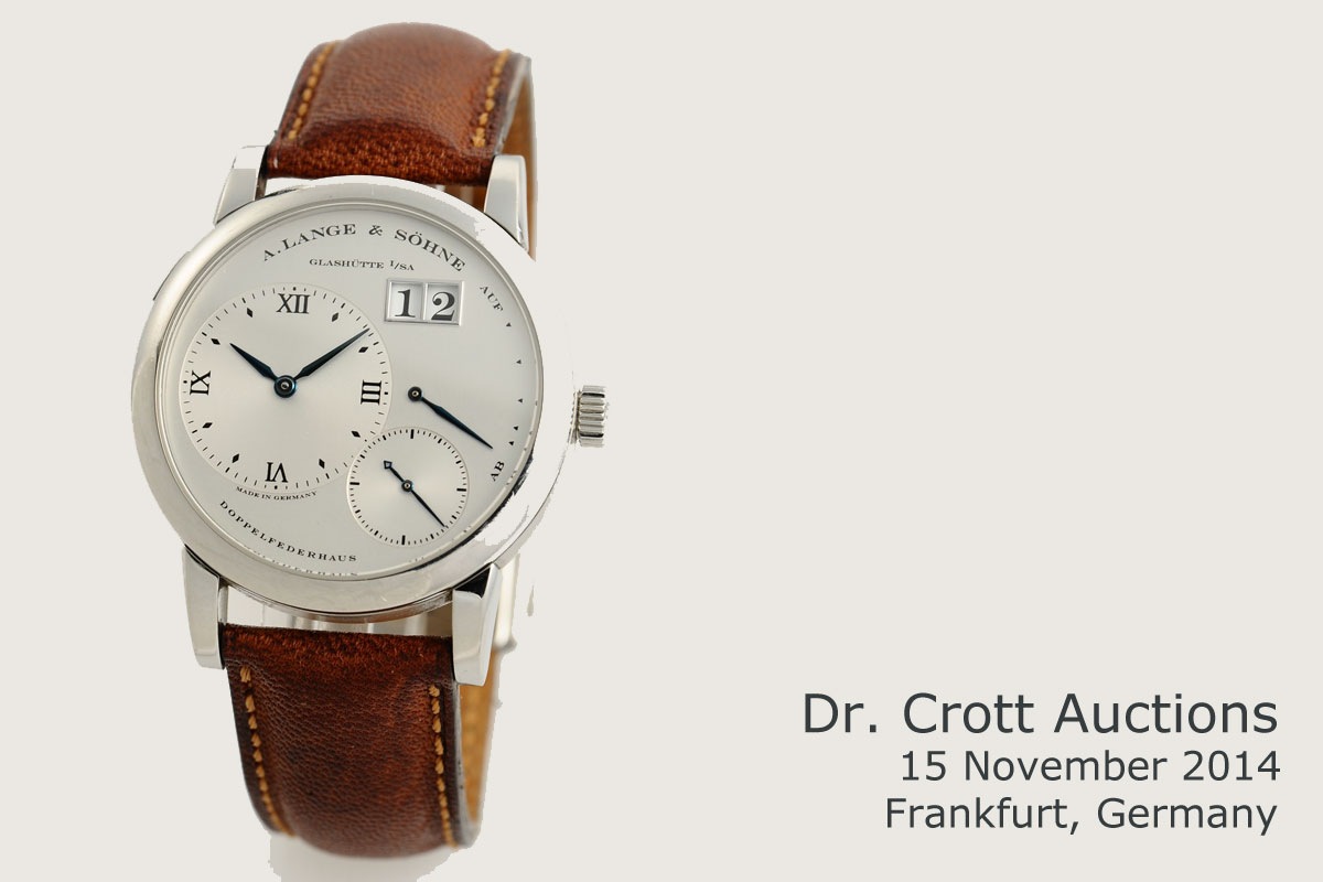 Crott Auctions Lange 1 in stainless steel