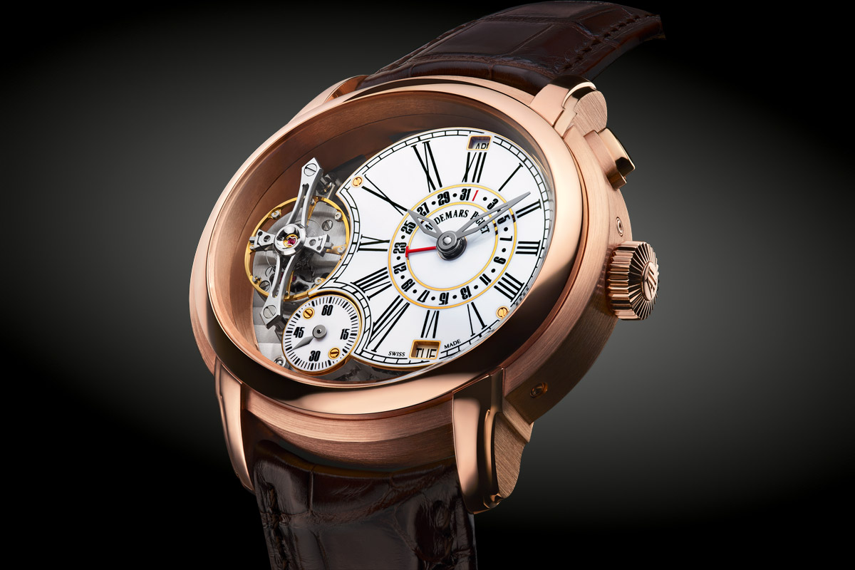 Introducing the audemars piguet millenary quadriennium monochrome watches for Audemars watches