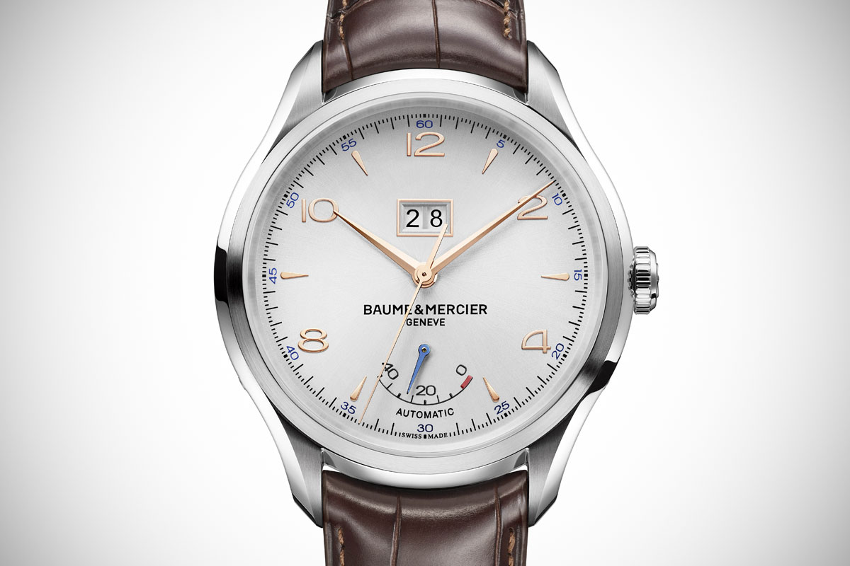 Pre-SIHH 2015: Baume & Mercier Clifton Automatic Big Date and Power Reserve and Hampton Automatic