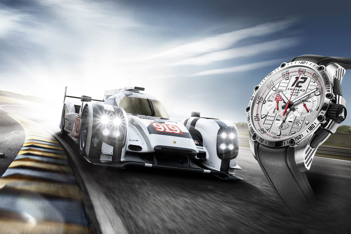 24 Hours of Le Mans with Chopard Superfast Chrono Porsche 919 Edition