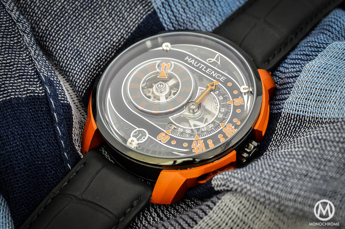 Introducing the Hautlence HLRQ-04 and HLRQ-05 Avant-Garde (live photos & price)