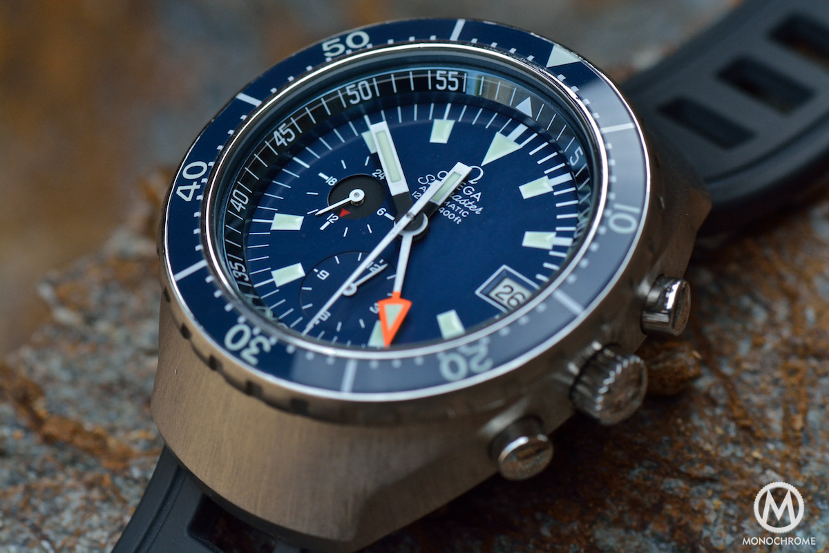 The omega seamaster automatic 120m chronograph - Omega dive watch ...