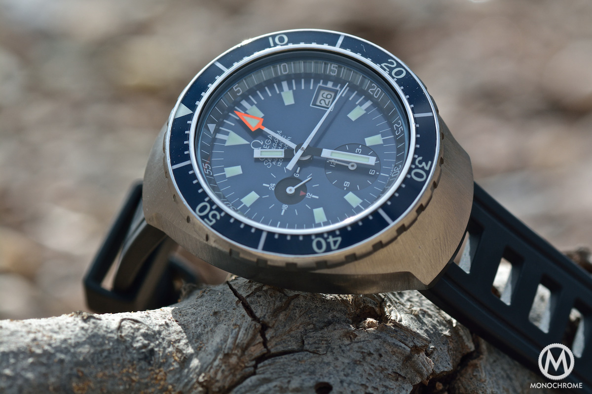 The Omega Seamaster Automatic 120m Chronograph (Ref.176.004) a.k.a. the Big Blue