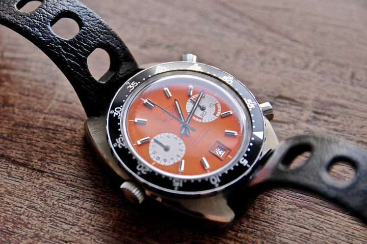 Heuer Autavia ref.1163 Orange dial prototype