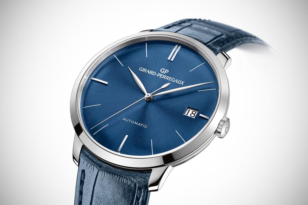 Girard Perregaux 1966 41mm blue dial - 3