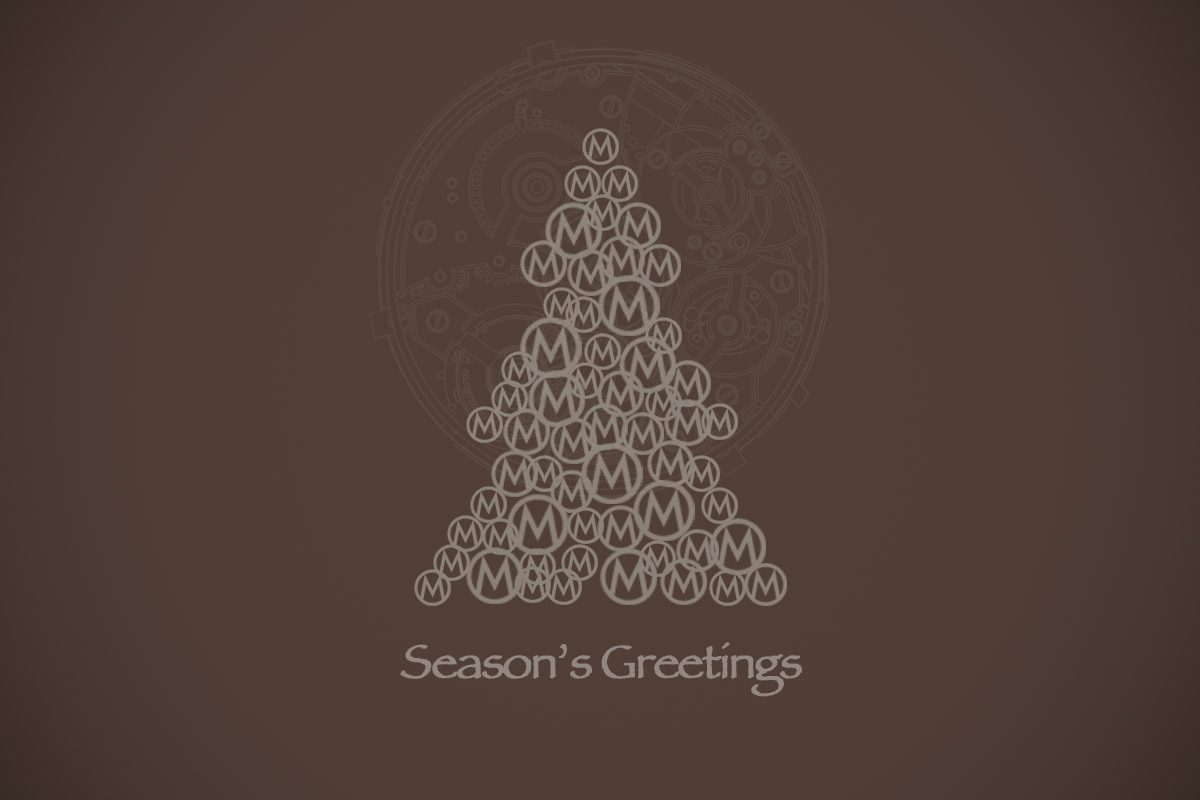 Season's Greetings from the Monochrome-Watches team