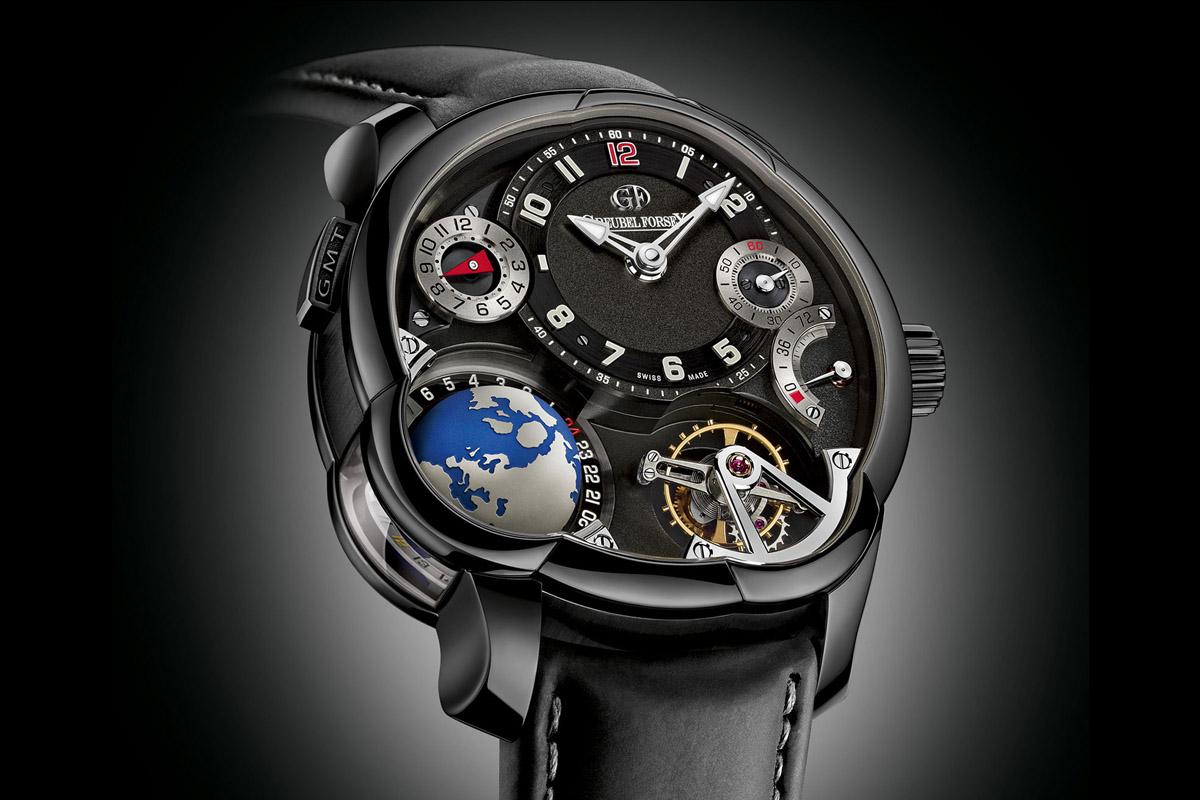 Greubel Forsey GMT titanium Black ADLC - 3