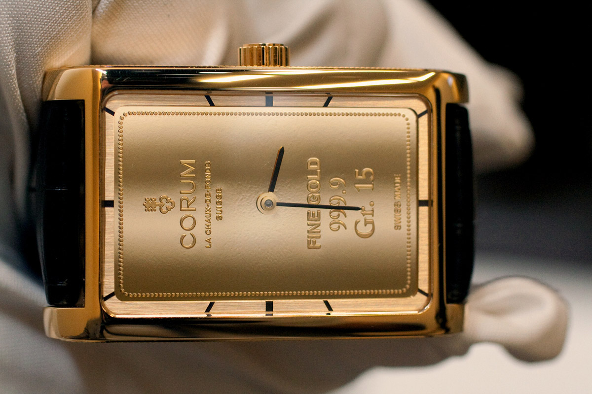 Corum Ingot Gold