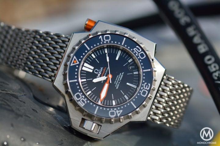The legendary omega seamaster ploprof the kraken of - Omega dive watch ...