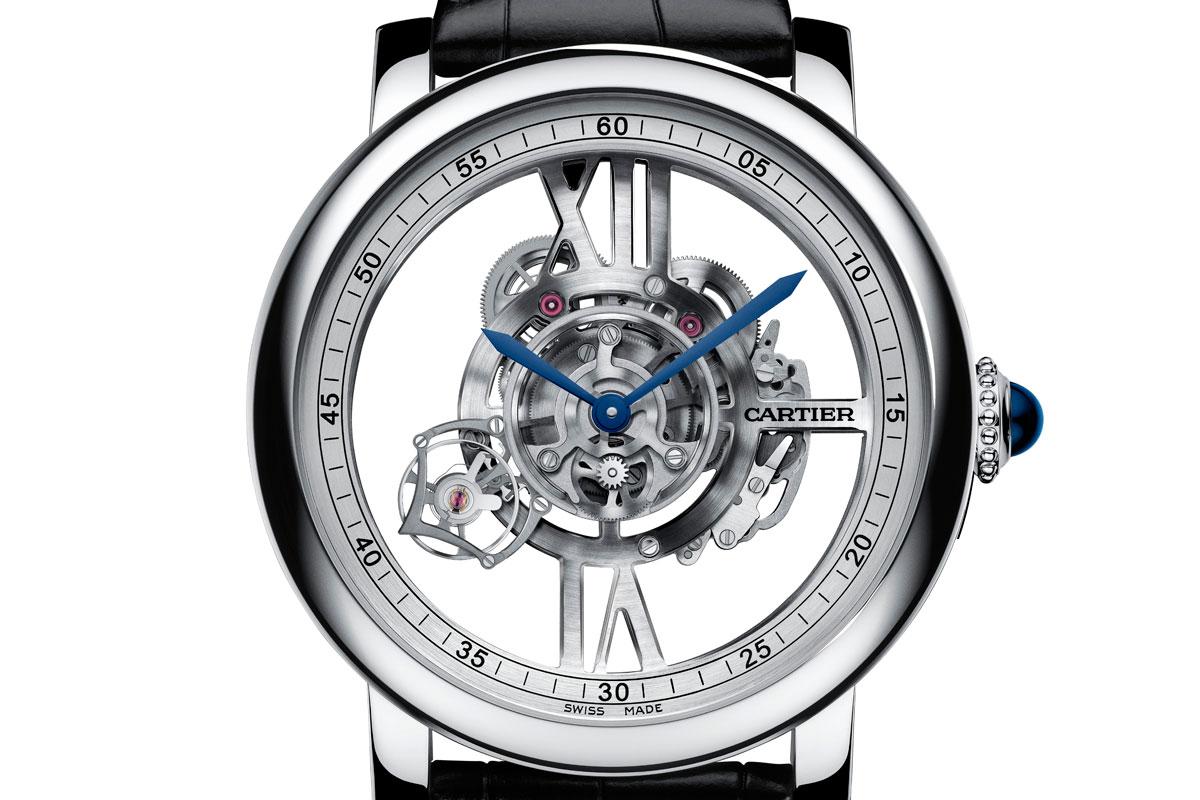 Pre SIHH 2015: Introducing the Rotonde De Cartier Astrotourbillon Skeleton Watch Calibre 9461 MC