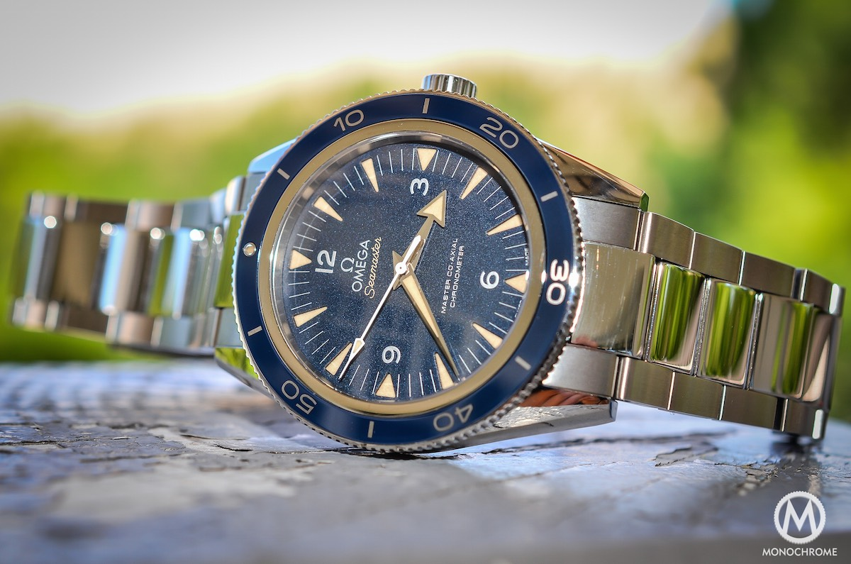 omega seamaster 300 master coaxial in titanium review