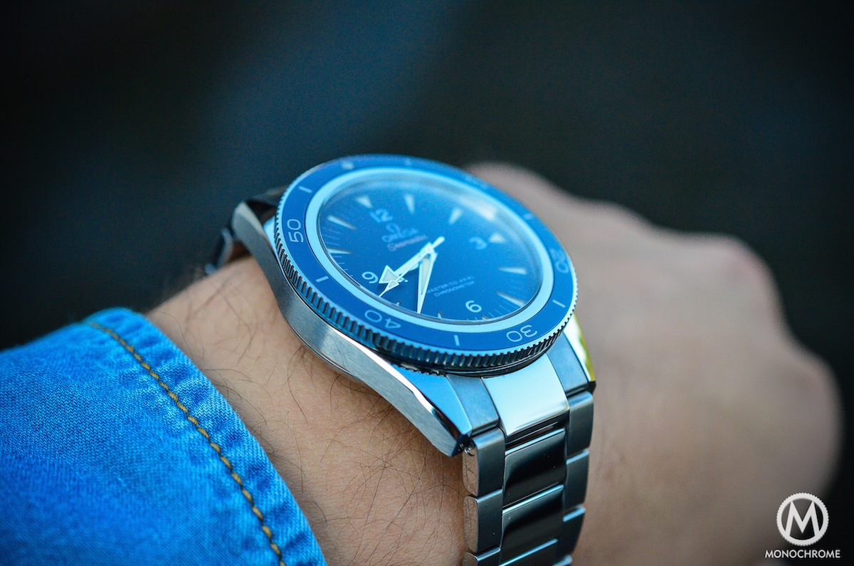 Omega Seamaster 300 Master Co Axial In Titanium Review