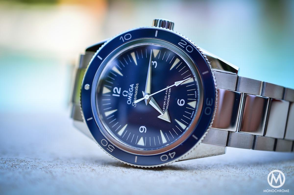 omega seamaster 300 master co-axial titanium - 8
