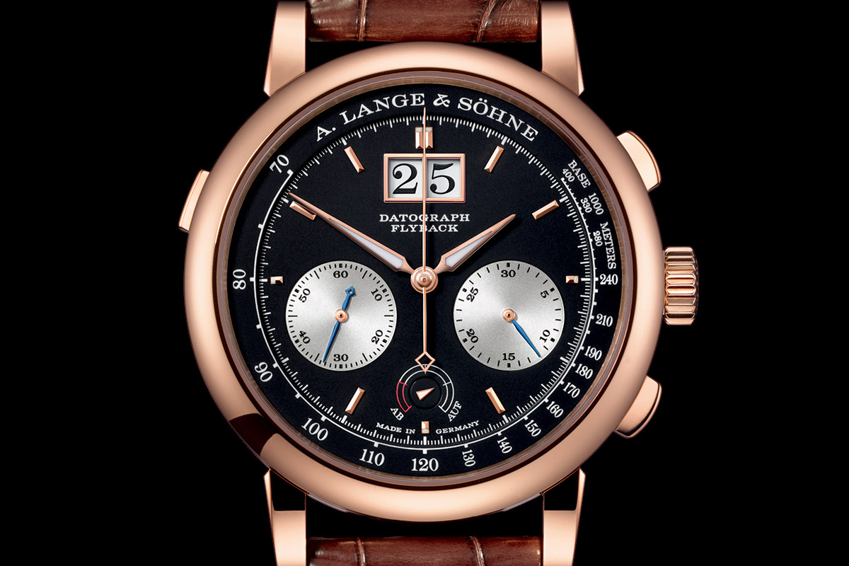 SIHH 2015: A. Lange & Sohne Datograph Up/Down now in Pink Gold (specs and price)