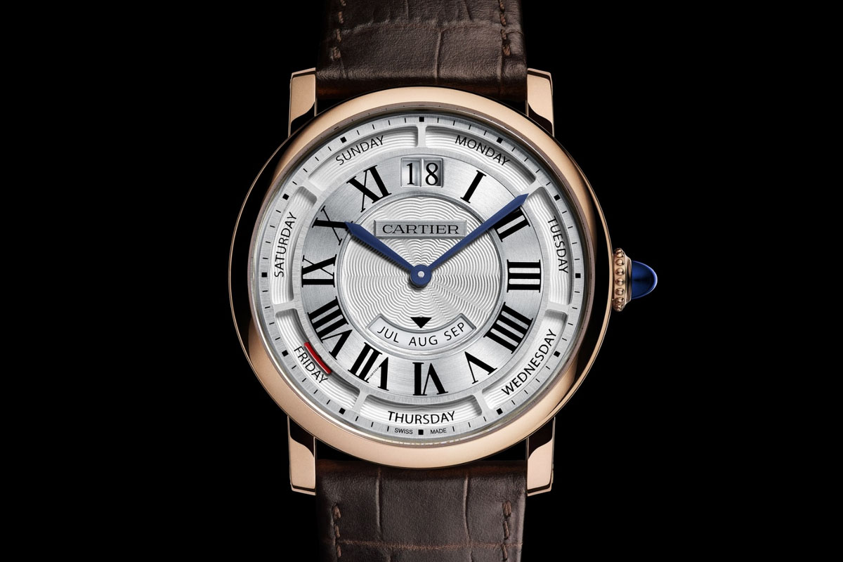 Pre SIHH 2015: Cartier comes with the Rotonde de Cartier Annual Calendar, now in 40mm (specs and price)