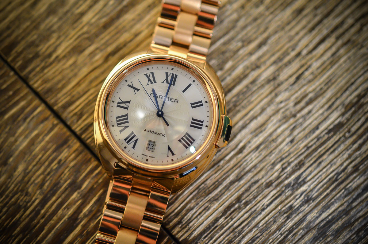SIHH 2015 – Cle de Cartier – hands-on with live photos & specs