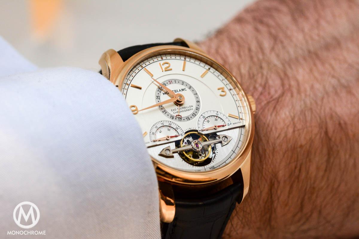 SIHH 2015: Montblanc Heritage Chronométrie ExoTourbillon Minute Chronograph