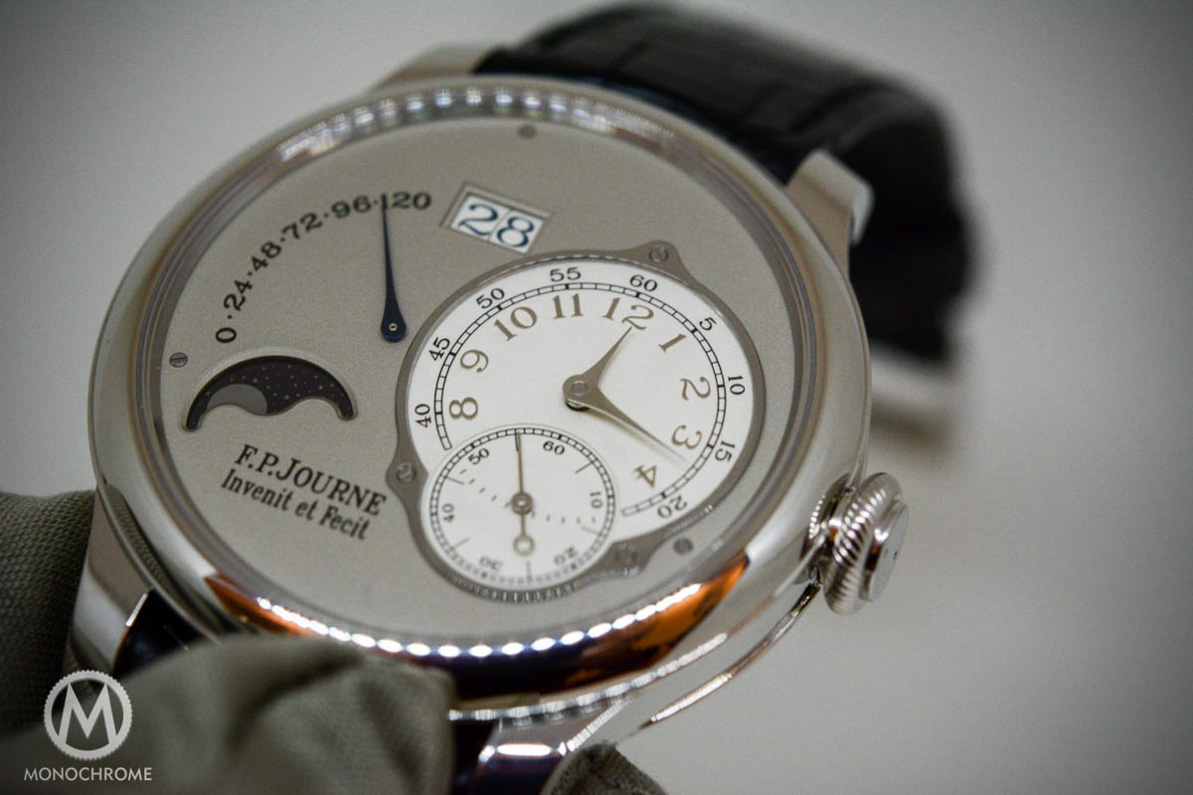 FP Journe Octa Lune – Hands-on with the 2015 edition with live photos (specs & price)