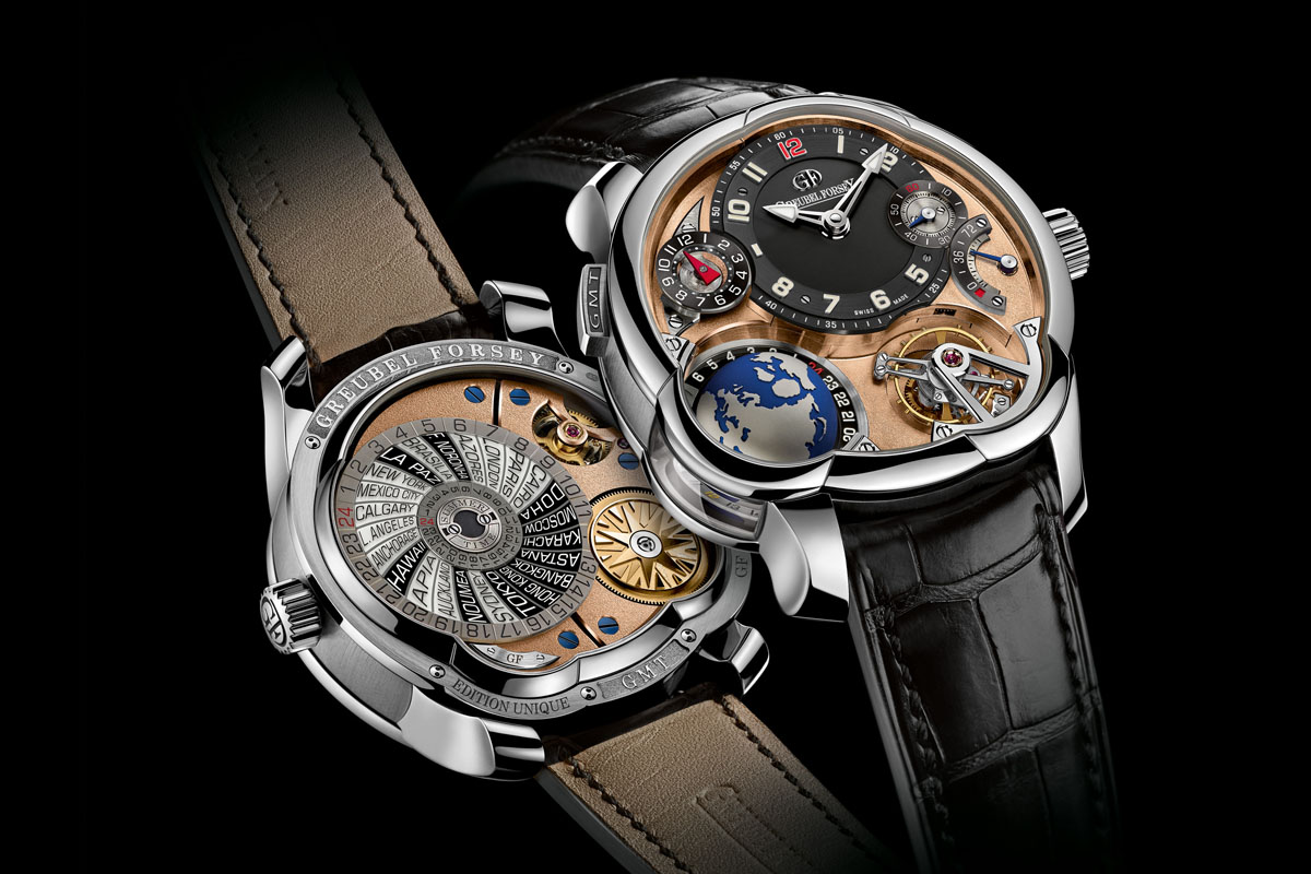 SIHH 2015: Greubel Forsey novelties including the GMT with 5N movement and the final execution of the QP à Equation