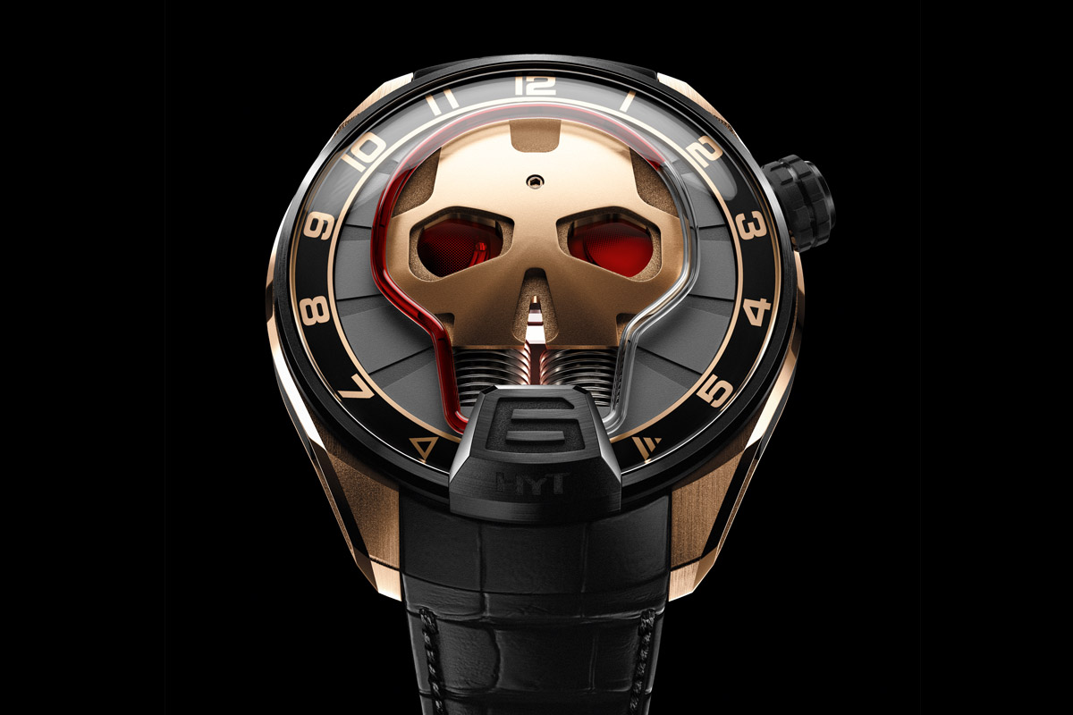 Introducing the HYT Skull Green Eye and Red Eye