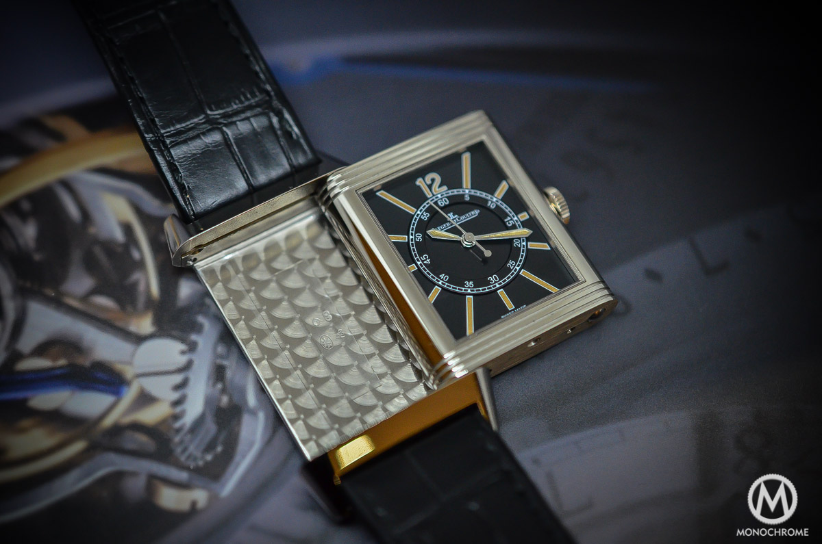 SIHH 2015 – Jaeger-LeCoultre Grande Reverso 1931 Seconde Centrale – hands-on with live photos & price