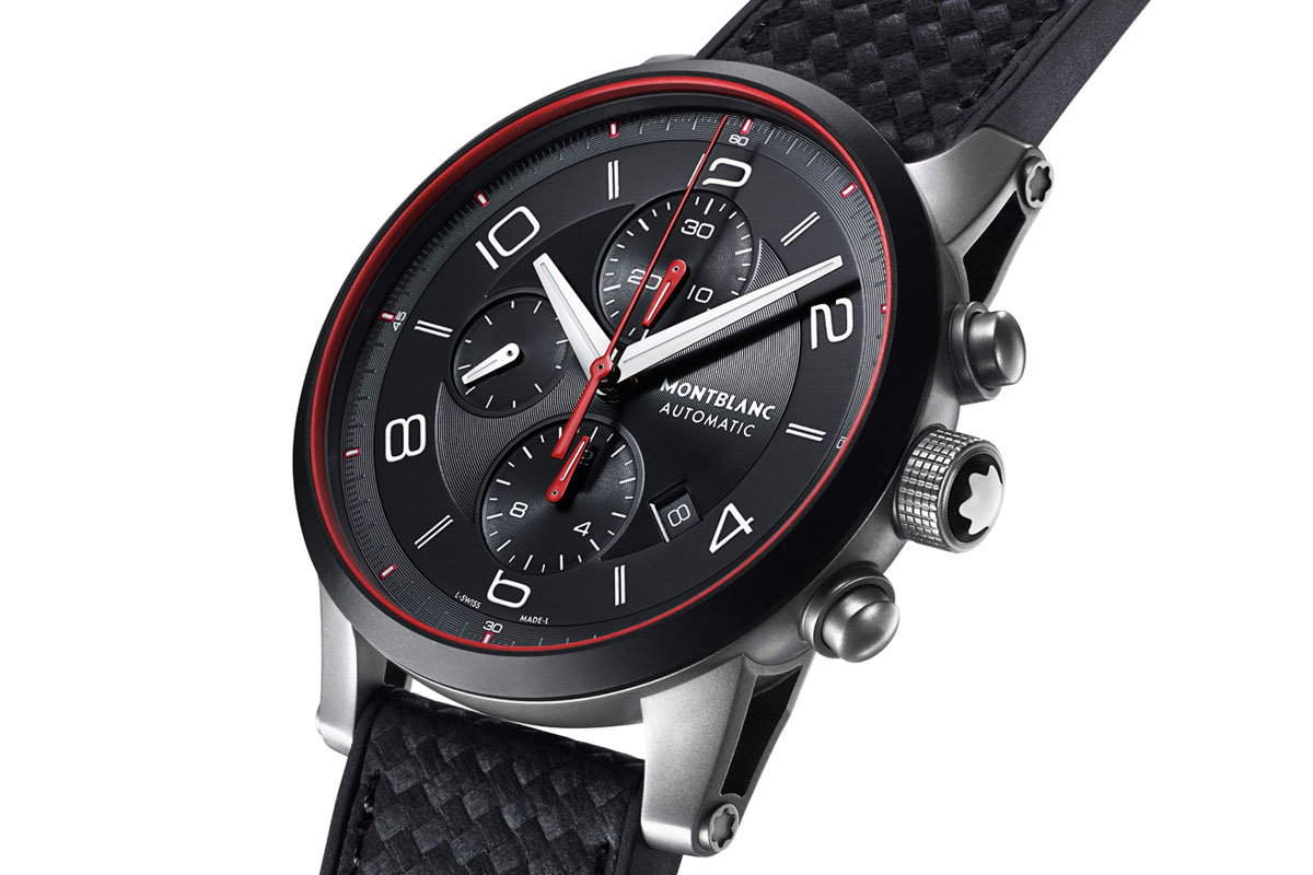 Pre SIHH 2015: Montblanc TimeWalker Urban Speed Chronograph and matching e-Strap (Exclusive Photos, Specs and Price)