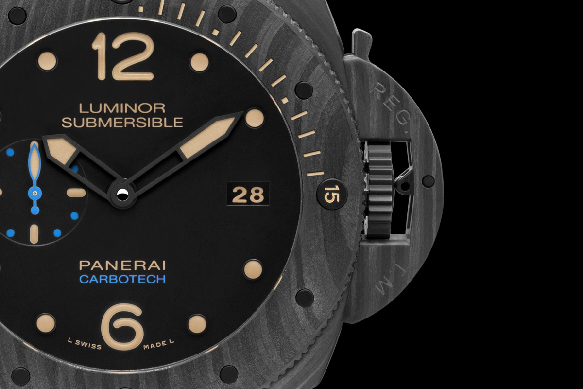 SIHH 2015 – Panerai Luminor Submersible 1950 Carbotech 3 Days Automatic – 47mm PAM00616 (specs & price)