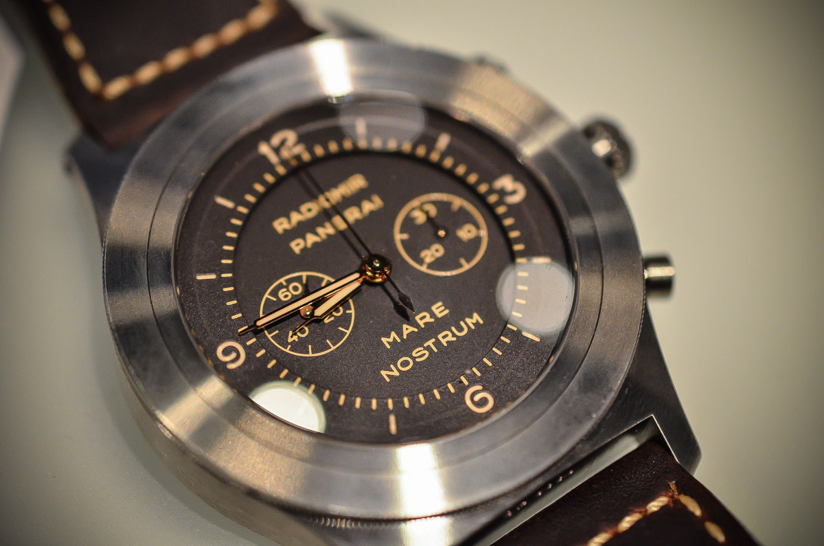 SIHH 2015 – Panerai Mare Nostrum Titanio 52mm PAM00603 – Hands-on with live photos & Price