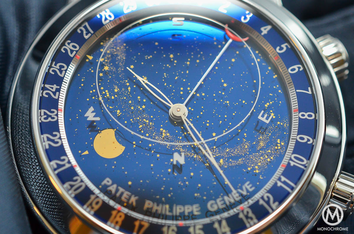 Patek Philippe 6102P Sky Moon Celestial explained with live photos ...