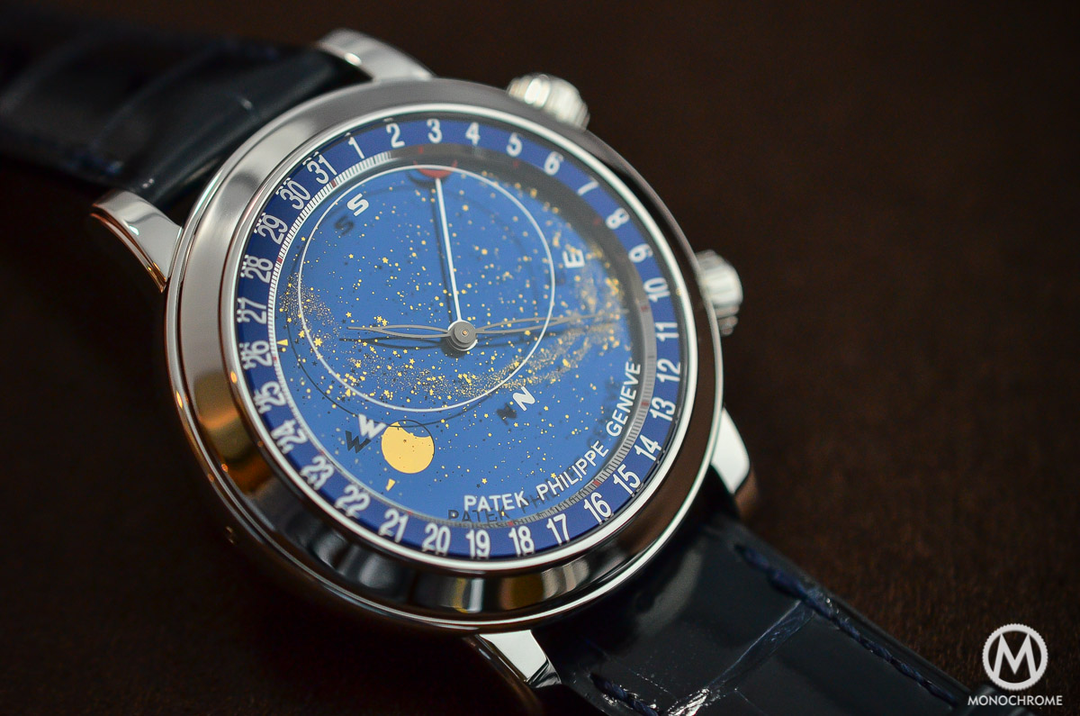 Patek Philippe 6102P Sky Moon Celestial explained with live photos, specs and price