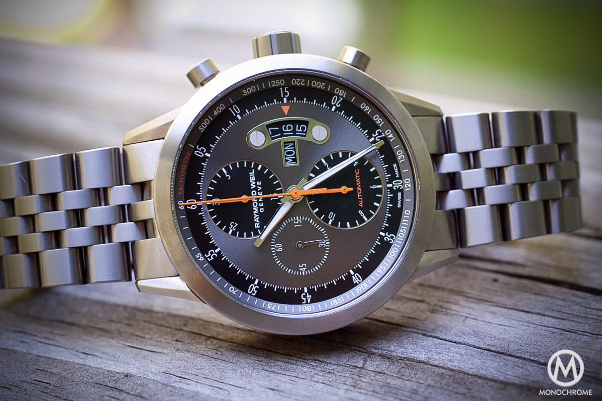 Raymond Weil Freelancer Titanium Chronograph – Full Review (live ...