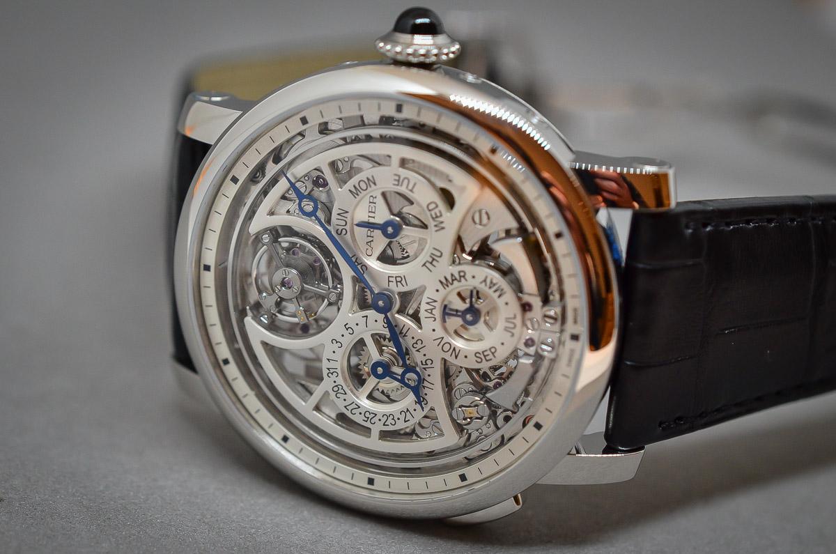 SIHH 2015 – Hands-on with the Rotonde de Cartier Grand Complication Calibre 9406MC (live photos & specs)