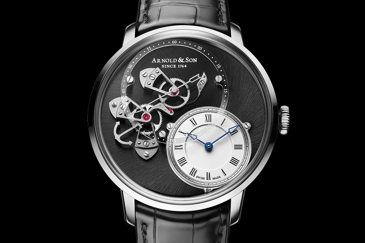 Pre-Baselworld 2015 – Introducing the Arnold and Son Instrument DSTB now in Stainless Steel