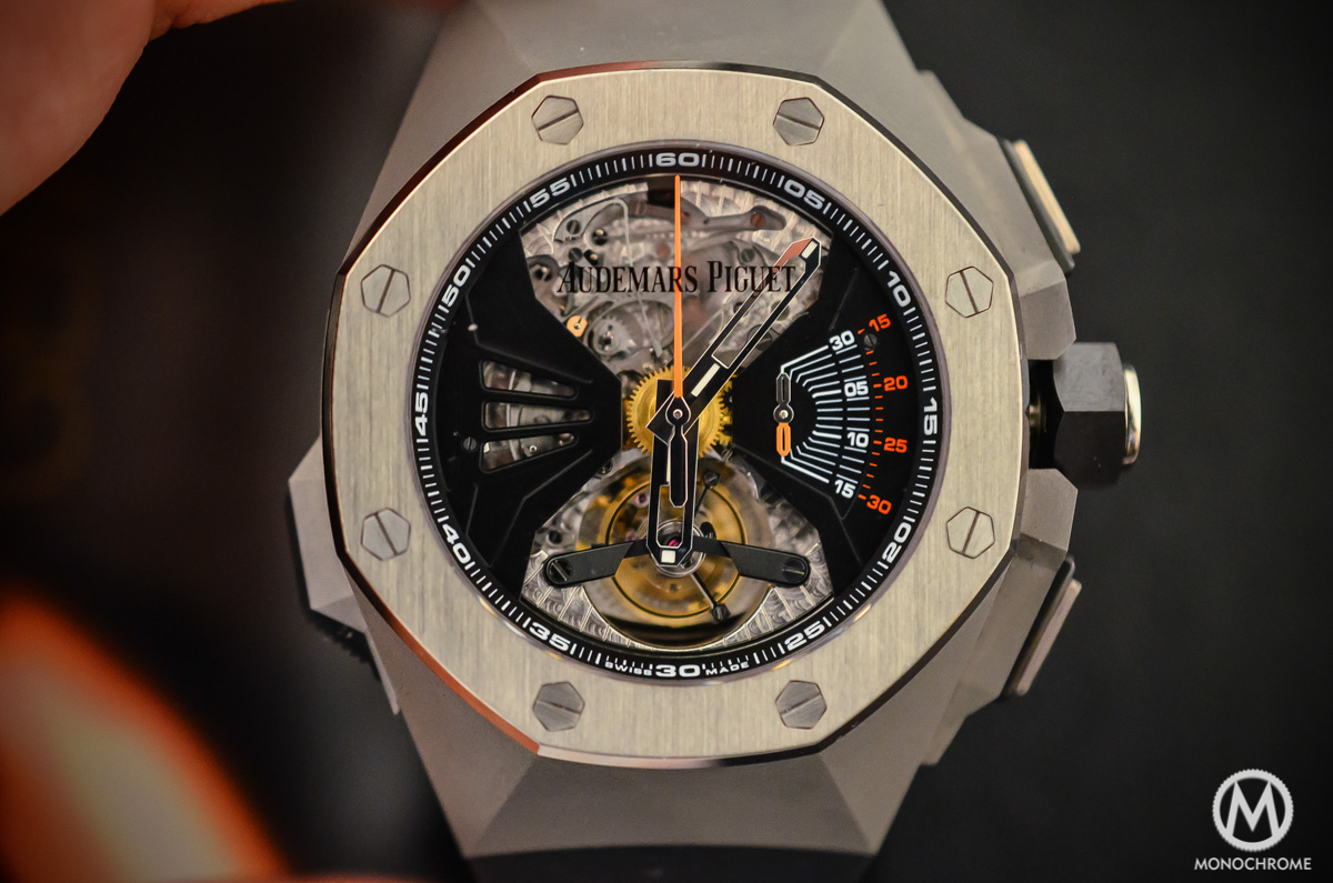 SIHH 2015 – Audemars Piguet Royal Oak Concept RD1 Acoustic Research Minute Repeater – How it possibly works?