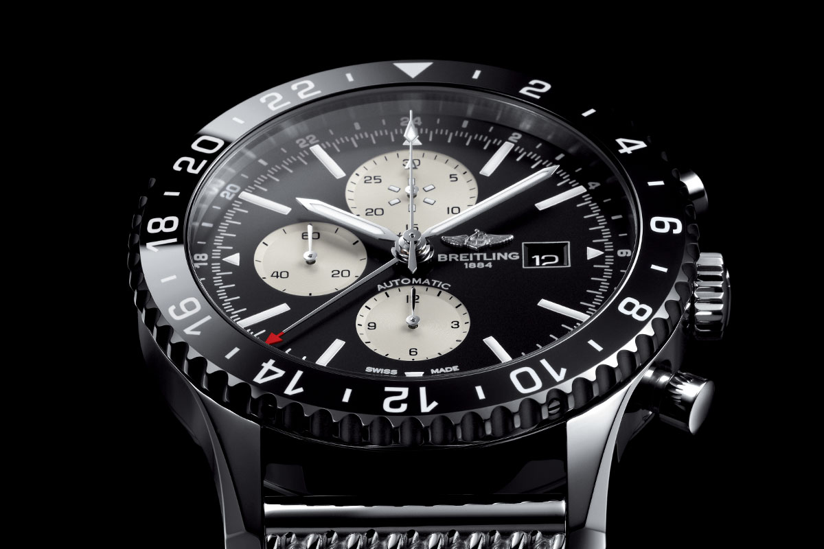 Monochrome 2015 The Introducing - Breitling Watches Pre Baselworld Chronoliner