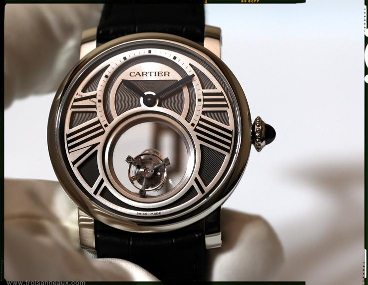 Cartier Rotonde Tourbillon Mysterieuse