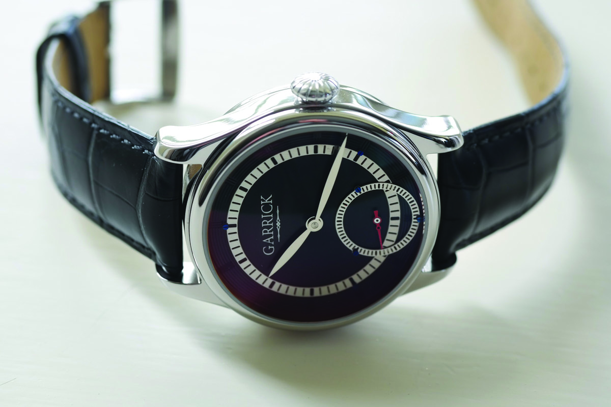 British Watchmaking: Introducing the Garrick Shaftesbury SM301 (specs and price)