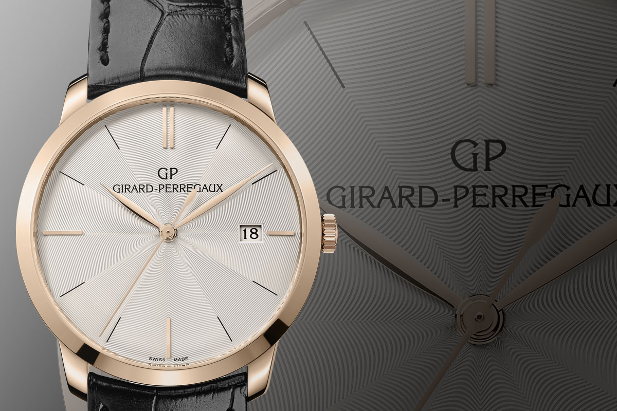 Pre-Baselworld 2015: Girard-Perregaux 1966 Guilloche dial ...