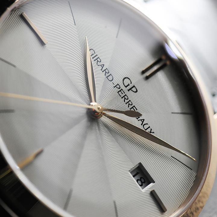 Pre-Baselworld 2015: Girard-Perregaux 1966 Guilloche dial