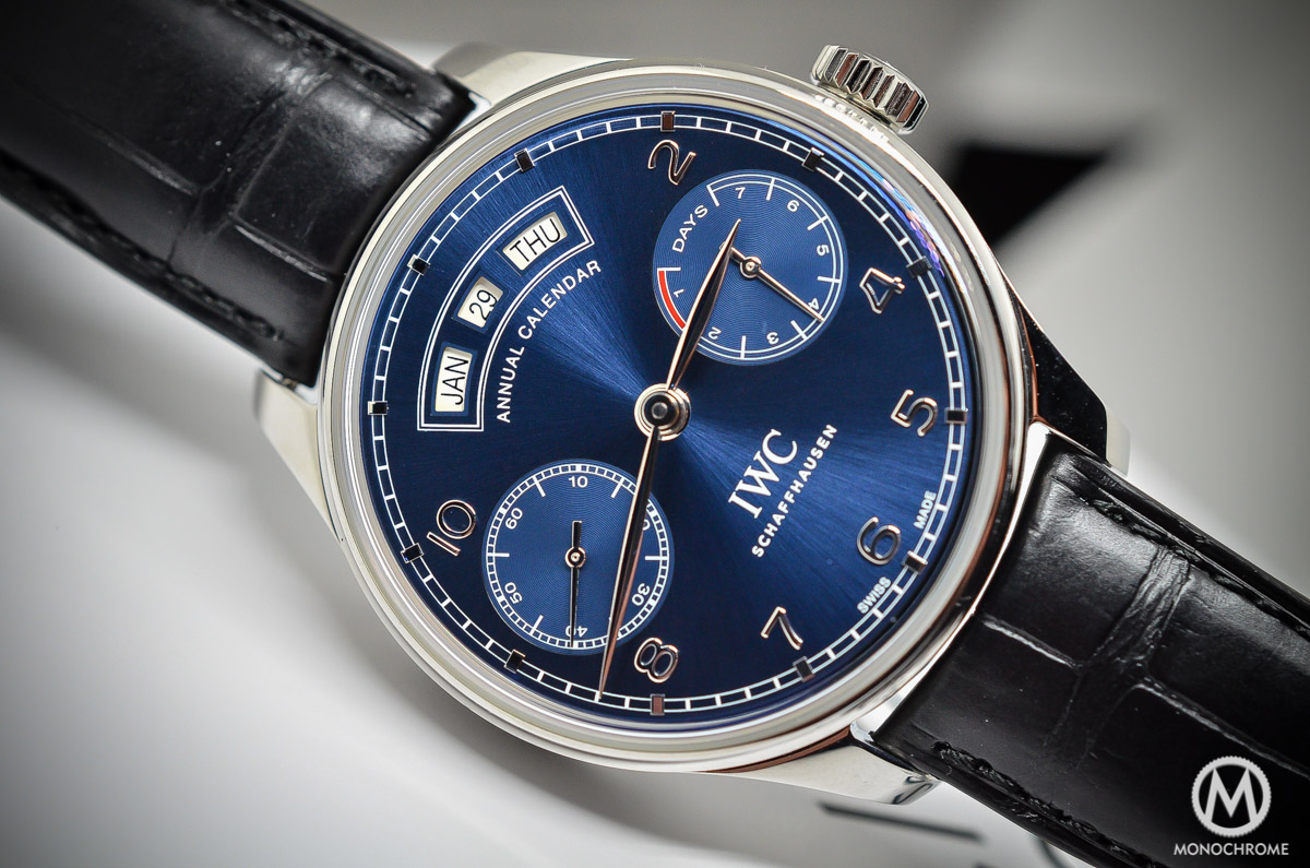 SIHH 2015: IWC Portuguese Annual Calendar ref. 5035 – hands-on with live photos, specs and price