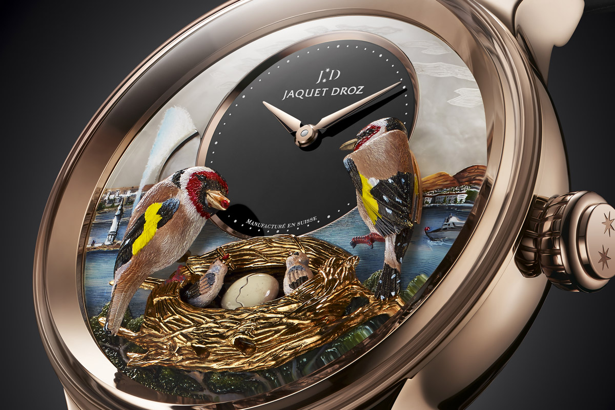 Introducing the Jaquet Droz Bird Repeater Geneva edition – specs and price