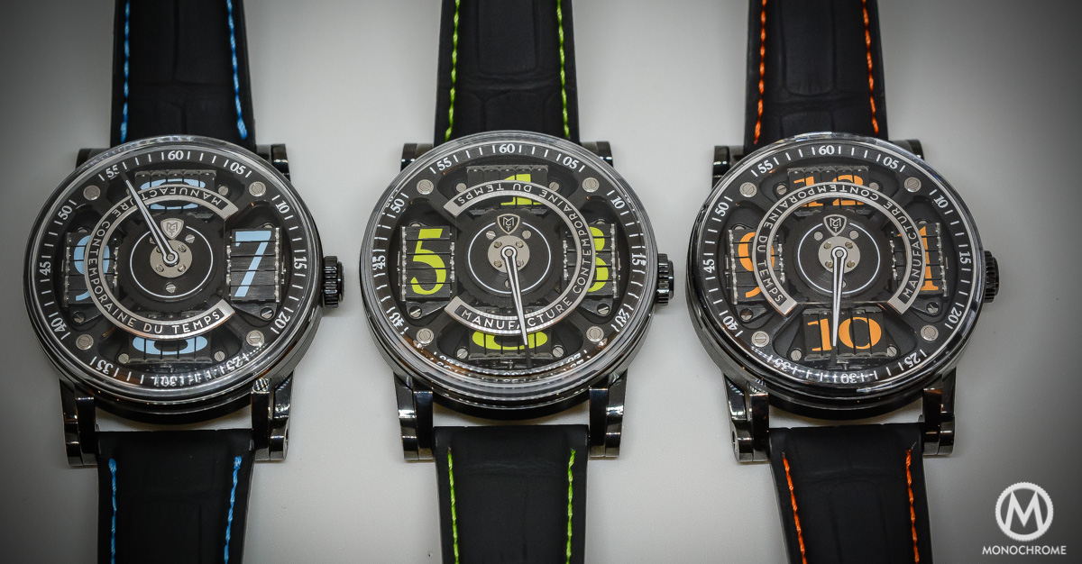 Pre-Baselworld 2015 – MCT Sequential Two S200 black DLC Limited Editions – hands-on with live photos & price